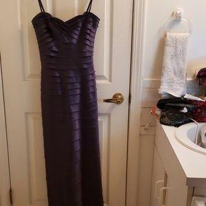 BCBG MaxAzria Dark Purple Formal Dress Size 2